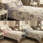 Duvet Cover with Pillowcase Quilt Cover Bedding Set Single Double King RoseBouqu