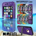 Durable Shockproof Dirt Proof Waterproof Case Cover For Apple iPhone 6 / 6 Plus
