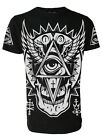 ALL SEEING EYE Tie-Dye T-Shirt Darkside Occult Collection Goth, Wiccan, Rock