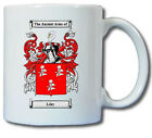 LILEY COAT OF ARMS COFFEE MUG