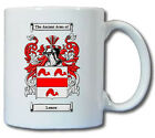LEMON (ENGLISH) COAT OF ARMS COFFEE MUG