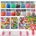 Loom band weaving boards tools c clips charms beads fishtail 300 600