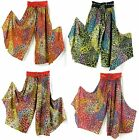 Funky Pants 100% Cotton Stretch Lycra Roll Waist Hippy, Boho, Comfortable, Cool2