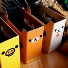 2640 Home Desk Cosmetic Stationery Storage Box Cartoon Rilakkuma Bear Box 1pc