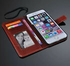 Retro Flip Wallet With Lanyard Stand Leather Case Cover For iPhone 6 Plus