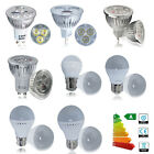 3 4 6 10x GU10 MR16 4W 6W LED Bulbs Spotlight E27 B22 3W 5W Globe Light Lamp UK