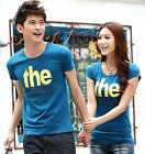 7 Colors Lovers T-shirt THE Modal High elasticity Men Women Couple DS6036