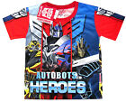 TRANSFORMERS AUTOBOTS OPTIMUS PRIME BUMBLEBEE t-shirt S-XL Age 3-7 yrs Free Ship
