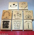 Stampin Up Fun Filled Stamp Set Rather be Shopping Make a Wish Flowers Cute Set