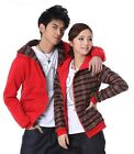 EOF 2 colors Two-sided Lovers Sweater Hoodie Couples women men Thick Keep warm