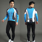 Men's Outdoor Sport Cycling Jacket Bike Bicycle Jersey Long Sleeve XL-3XL Santic