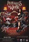 MOTIONLESS IN WHITE Reincarnate SIGNED Autographed PHOTO Print POSTER Shirt 001