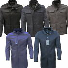 MENS VOEUT FORMAL BOUNCER COAT BLACK BLUE GREY SMART OVERCOAT  JACKET THIAGO