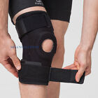 Adjustable Neoprene Hinged Open Knee Patella Brace Support Guard ACL MCL Protect