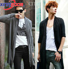 Men's coat Long-sleeved knit cardigan sweater air conditioning shirt