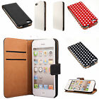 iPhone 3 3GS 4 4S 5 5S handy tasche flip case klapp schutz hülle cover case etui