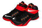 Nike Zoom LeBron Soldier VIII Basketball Shoe Black/Red/White 653641-016 sz.8-13