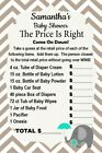 price right johnston ri - 14 Personalized Baby Shower - The Price Is Right Game -Party Games - Asst Colors