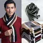 9 Colors, New Winter Warm Men's Classic Artificial Wool Tassels Scarf Long Shawl