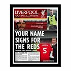 Personalised Liverpool FC Football Club Newspaper Christmas Birthday Gift