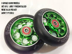 6 SPOKE SCOOTER WHEELS STING GREEN  X 2 WHEELS £17.99