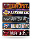 "NBA Basketball Street Sign 3.75"" x 16"" Pick your team!! on eBay"