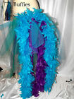 Big Peacock Burlesque Slashed Layer Feathers Bustle Belt / Train Tail 8-30