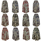 Ladies Skirt Cool Comfortable Lightweight Hippy Hippie Casual Party Festival