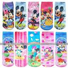 Kids Mickey Minnie Socks Printed Christmas Gifts Long Socks 1 Pair Size S,L