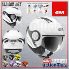 Casco Helmet Jet Givi 11.1 Air Jet Moto Scooter Bianco Lucido White