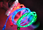 Led Light-up Usb Data Sync Cable Charger For Iphone 5 5s 6 6 Plus Ipod Nano 7