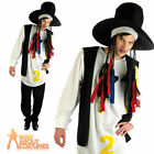 Boy George Costume 80s Chameleon Pop Star Culture Club Mens Fancy Dress Outfit