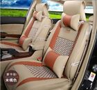 10pcs Fashion Nice PU leather Car Seat Cover for All Car 5 Seats New
