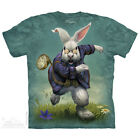 White Rabbit T-Shirt by The Mountain. Fantasy Pets Sizes S-5XL NEW