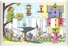 BIRDHOUSES & BIRD BATH HOME DECOR LIGHT SWITCH COVER OR OUTLET V773