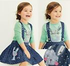 NEW BABY INFANT GIRLS RABBIT TSHIRT TOP & DRESS 12-18,18-24,2-3,3-4& 4-5 YEARS