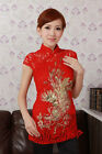 Chinese Women's Top Dress/ T-shirt Red Sz:M L XL XXL XXXL