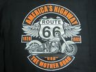 ROUTE 66 AMERICA'S HIGHWAY THE MOTHER ROAD BIKER RIDER SLEEVELESS T SHIRT