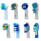 *Toothbrush Heads for Oral-B Floss Action Precision 3D White Dual Clean Sonic*