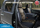 Coverking Neosupreme Mossy Oak Camo Custom Seat Covers for Chevy Silverado 1500