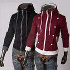 PROMOTION XMAS Fashion Men Slim Hoodies Sweatshirt Baseball College Coat Jackets
