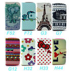 Wallet Flip Stand Case Cover For Samsung Galaxy Grand Neo i9060 i9062 + 2 Gift