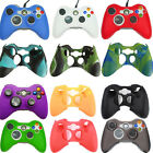 Silicone Soft Rubber Gel Grip Case Skin Cover for Xbox 360 Controller 18 Colors