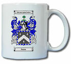 PENTON (ENGLISH) COAT OF ARMS COFFEE MUG