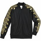 Adidas Jeremy Scott JS ObyO Gold Music Note Track Jacket Pants Tracksuit Rare