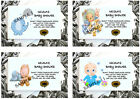 10 Packs of  Personalised Baby Shower Seed Favours  Ref 02-01