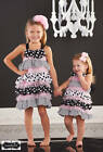 Mud Pie Bella Polka Dot Ruffle Dress  9-12M, 12-18M