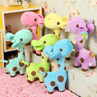 New Cute Giraffe Dear Soft Plush Toy Animal Dolls Baby Kids Birthday Party Gift