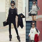 G Women Lady Leopard Print Long Sleeve Casual Loose T-shirt Pullover Top Blouse