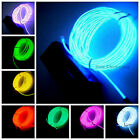 1M/2M/3M/5M 10 colors EL Wire w Battery-powered Controller Neon Light Flexible